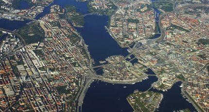 Stockholm från ovan